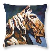 Dream Racer Throw Pillow