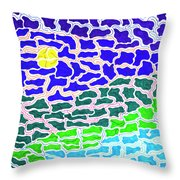 Dream Scape Throw Pillow