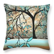 Dream State I By Madart Throw Pillow