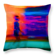 Dream Stroll Throw Pillow
