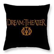 Dream Theater Logo Throw Pillow