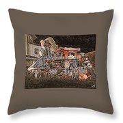 Dream Train  Throw Pillow