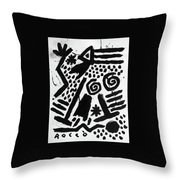 Dream Walking Throw Pillow
