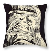 Dream Watching Throw Pillow