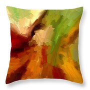 Dream Weaver Throw Pillow by Ely Arsha