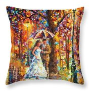 Dream Wedding Throw Pillow