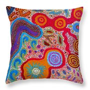 Dreaming 3 Throw Pillow