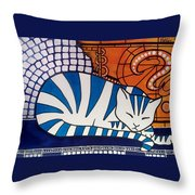 Dreaming About Throw Pillow