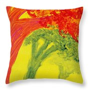 Dreaming And Shadows Throw Pillow