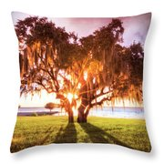 Dreaming At Sunrise Throw Pillow