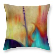 Dreaming Face Throw Pillow