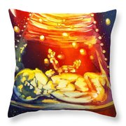 Dreaming Inside Throw Pillow