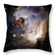 Dreaming Of A Brighter New Year 2016 Throw Pillow