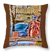 Dreaming Of Chocolate Throw Pillow