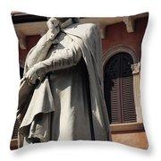 Dreaming Of Dante Verona Italy Throw Pillow