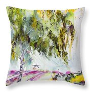 Dreaming Of Provence Throw Pillow