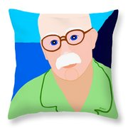 Dreaming Of Retiring To Hawaii Throw Pillow