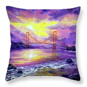 Dreaming Of San Francisco Throw Pillow
