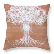 Dreaming Of Sundogs Throw Pillow by Brandy Woods