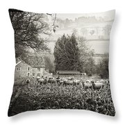 Dreaming Pastoral Throw Pillow