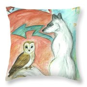 Dreamkeepers Throw Pillow
