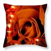 Dreams 1 - Rose Throw Pillow