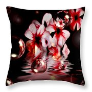 Dreams 5 - Floral Throw Pillow