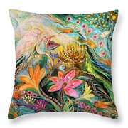 Dreams About Chagall. The Sky Violin Throw Pillow