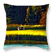 Dreams Can Fly Paint Throw Pillow