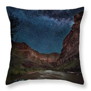 Dreams Fo Boats Throw Pillow