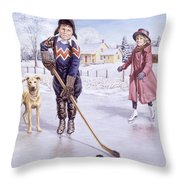 Dreams Of Glory Throw Pillow