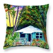 Dreams Of Kauai 2 Throw Pillow