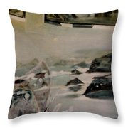 Dreams Of Serenity Throw Pillow