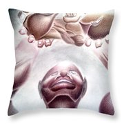 Dreams Of The Fathers  Throw Pillow