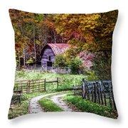 Dreams On The Farm Throw Pillow