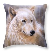 Dreamscape - Wolf II Throw Pillow