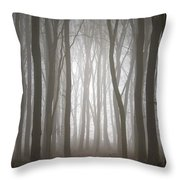Dreamscape Forest Throw Pillow