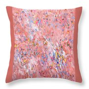 Dreamsicle Fields Forever Throw Pillow