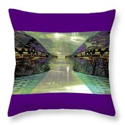Dreamtime Gondwanaland Throw Pillow