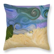 Dreamweaving  Throw Pillow