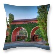 Dreamworks Studios Throw Pillow