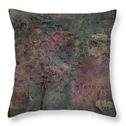Dreamy Blue Throw Pillow
