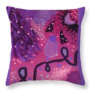 Dreamy Abstract Throw Pillow