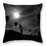 Dreamy Moon Throw Pillow
