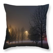 Dreamy Nightmare Throw Pillow