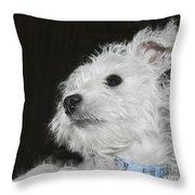 Dreamy Puppy Throw Pillow