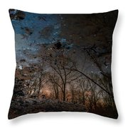 Dreamy Reflections Throw Pillow