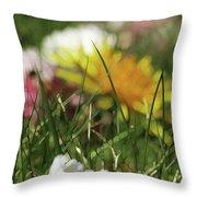 Dreamy Spring Throw Pillow