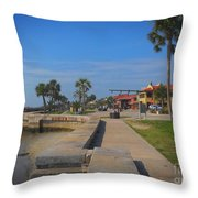 Dreamy St Augustine Florida Throw Pillow