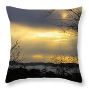 Dreamy Sunrise Throw Pillow